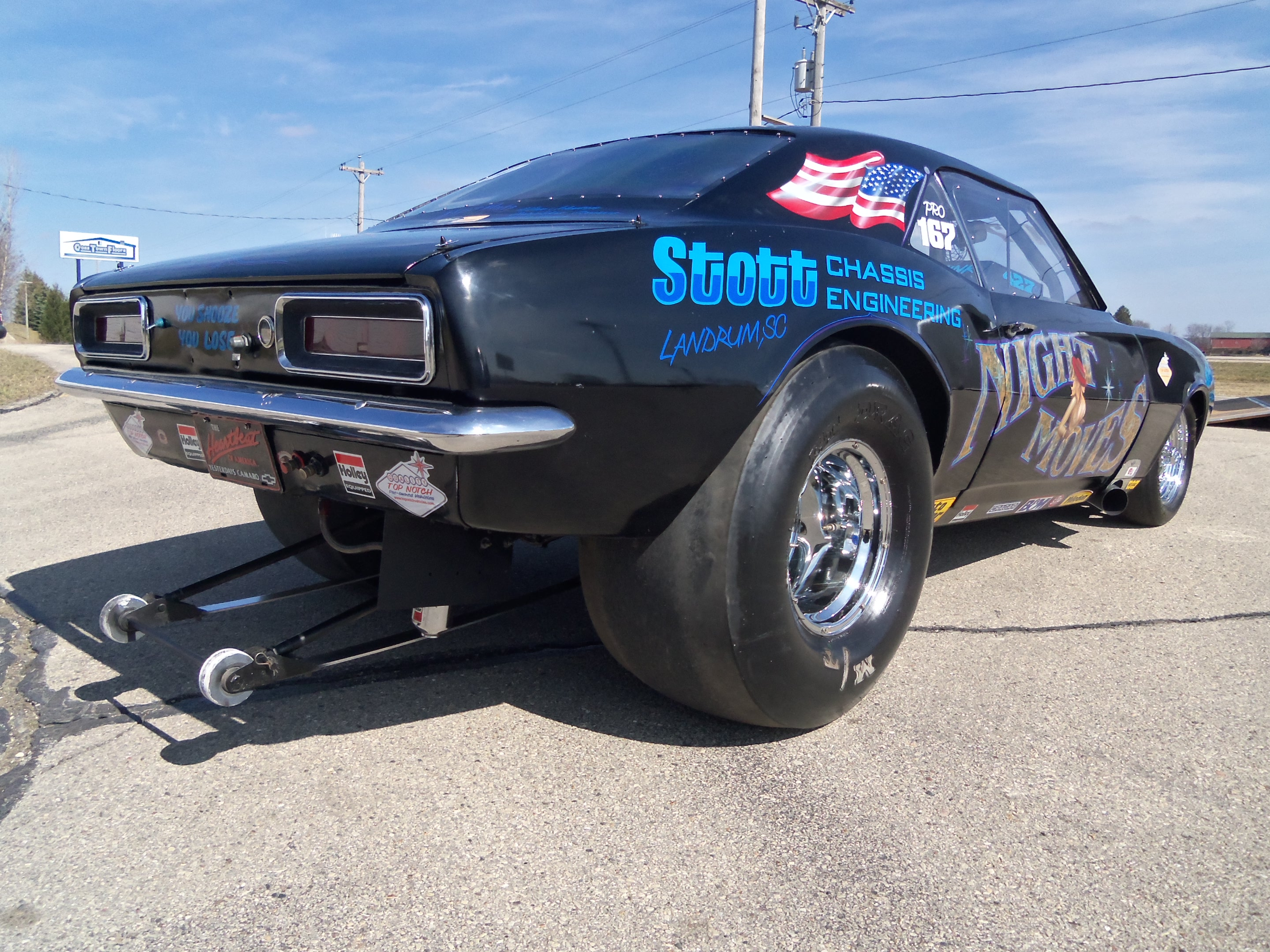 1967 Chevrolet Camaro Pro Stock – Top Notch Vehicles